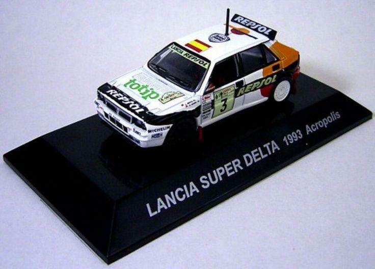 1/64 CMs RALLY CAR COLLECTION SS.3 Lancia Super Delta 1993 Acropolis