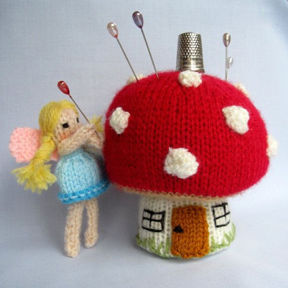 294 Best Knit Pin Cushions Images On Pinterest Knitting Patterns