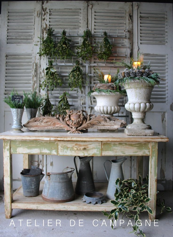 Growing with plants brocante d co vintage industrielle - Decoration industrielle vintage ...