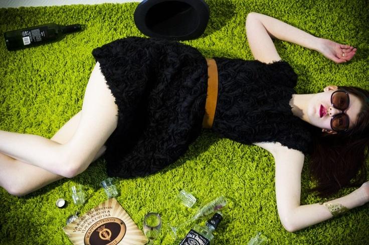 Sanna, Vappu Photoshoot for Vaasan Yliopilaslehti