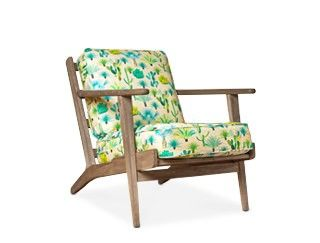 Armchair, mid-century style designed by Jacqueline Colley