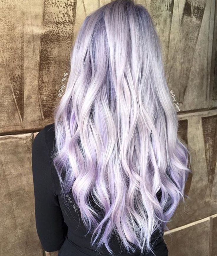 Lavender hair goals.