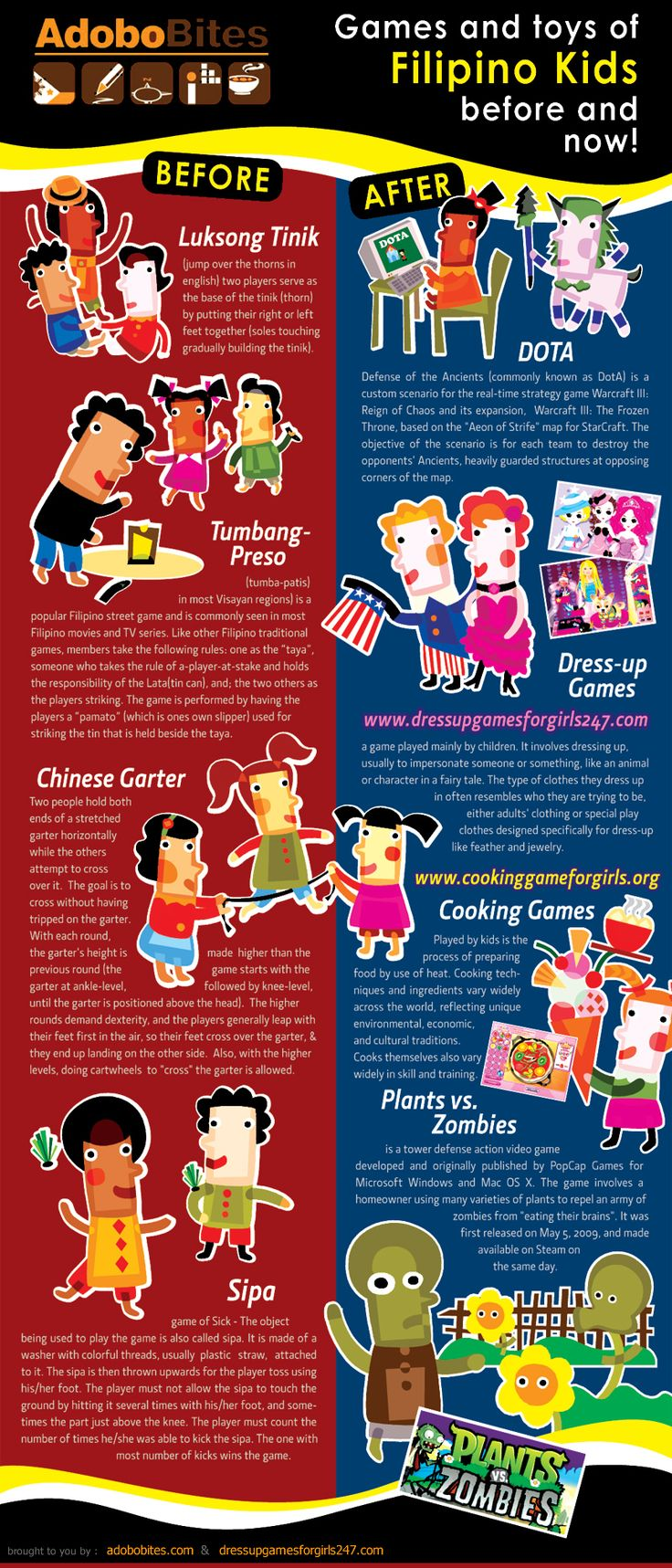 Games and Toys Of Filipino Kids: Then and Now