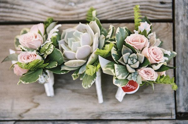 love the roses and succulents