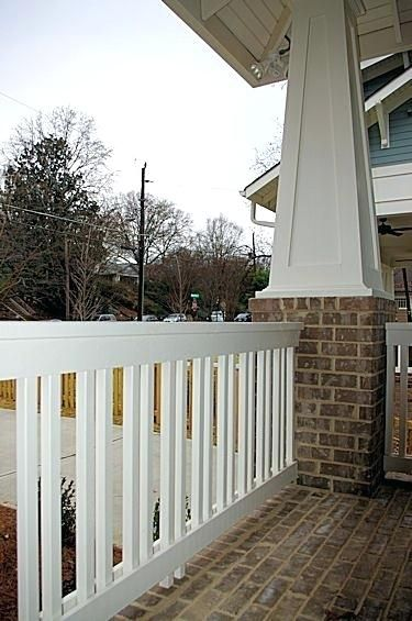 Image result for front porch railings (With images ...