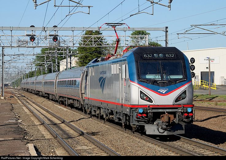 RailPictures.Net Photo: AMTK 632 Amtrak Siemens ACS-64 at Old Saybrook, Connecticut by Mark Schenking