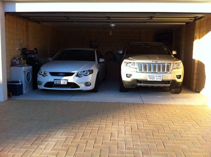 Wife's XR6 and my Grand Cherokee