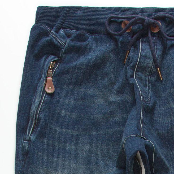 ELEVATE 2 L7 Chambray Mens Drop Crotch Jogger Pants 237710212 | Joggers & Sweatpants | Tillys.com