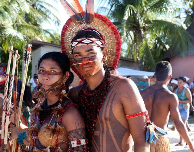 Danças encerram Jogos Indígenas em Coroa