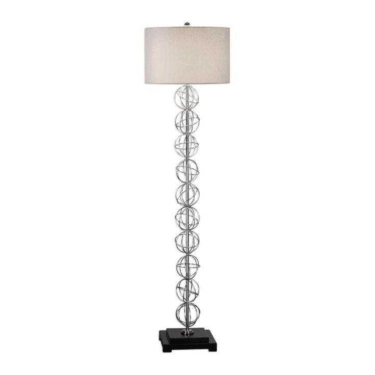 The 25 best tall floor lamps ideas on pinterest floor lamp uttermost 28120 1 italo 1 light 6675 inch tall floor lamp with fabric shade matte aloadofball Gallery
