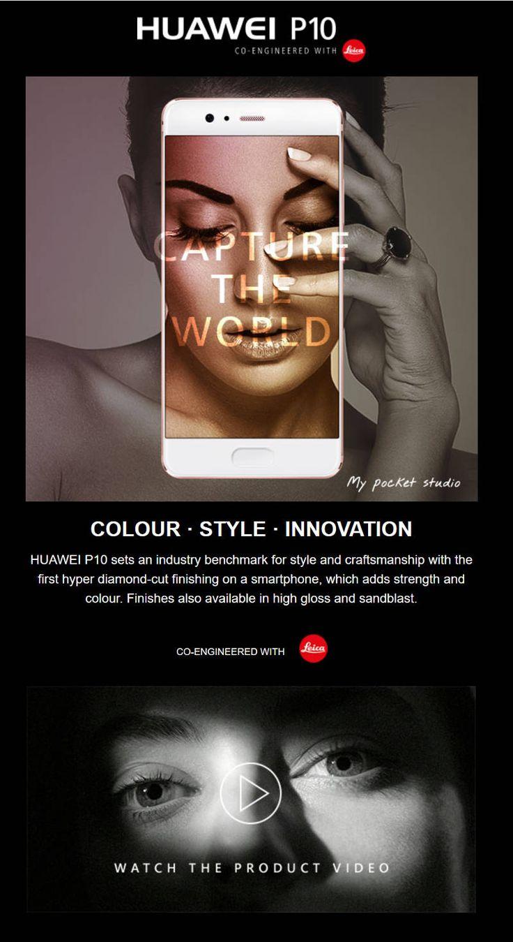 Huawei P10 - Make every shot a cover shot