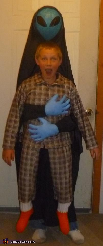 abducted by alien costume - Good Halloween Costumes Homemade