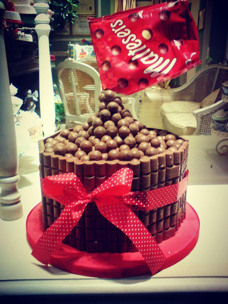 Lacta and Maltesers Chocolate Cake!!!