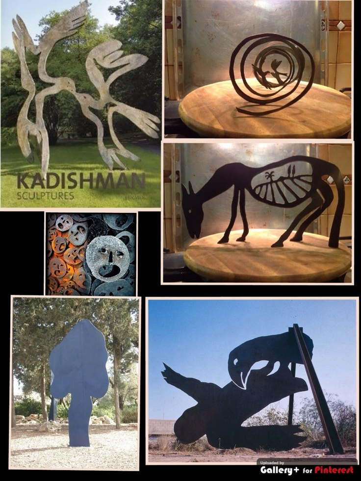 works by menashe kadishman