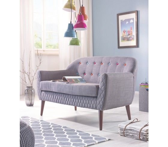 wohnzimmer couch günstig: sofa casual 3 sitzer studio couch day bed sofas home24 viveysss home