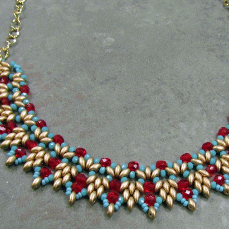Willow Necklace - 03/28/15 de Art Glass & Bead Show | Square Market
