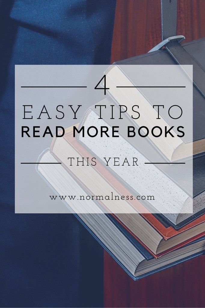 4 Easy Tips To Read More Books This Year: