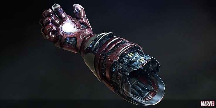 Iron Man 3 Mark 42 understructure design