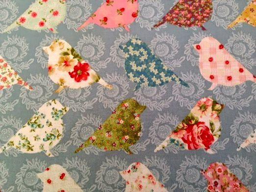 Fabric Fixation - Birds
