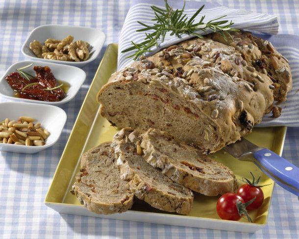 Tomaten-Schinkenbrot mit Hermannteig Rezept | LECKER