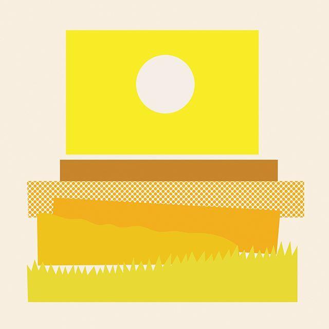 Sole, cicale, notti d'estate. Quasi Monocromo (Almost Monochrome) series is available in the shop www.olimpiazagnoli.com 🌅