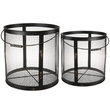 Wired Metal Basket Small For Real Living #reallivingxfreedom
