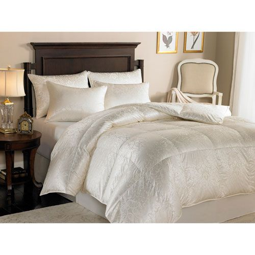 Eliasa Ecru Winter Grade A Iceland Eiderdown Oversized King Comforter - (In No Image Available)