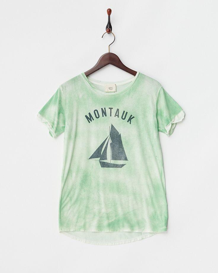 グリーン  MONTAUK Tシャツ - マンサール|ブランド通販(セール)なら 【グラムール セールス】 2016年8月10日(水)まで