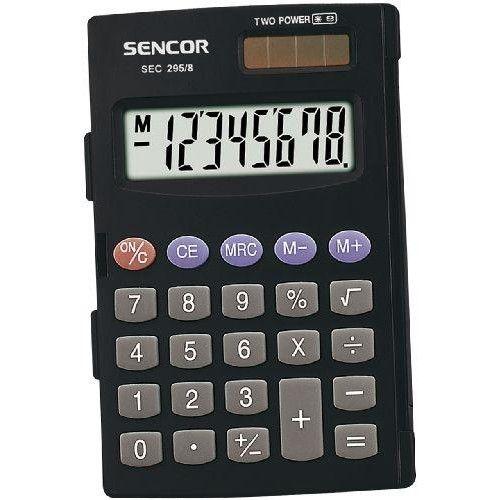 Sencor SEC-295/8 karakteres zsebszámológép nagy kijelzővel Ft Ár 1,190