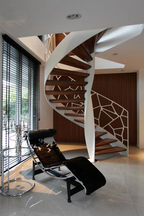 Inspired By Voronoi Diagrams EeStairs Designed A Creative Balustrade System Called Cells The Organic