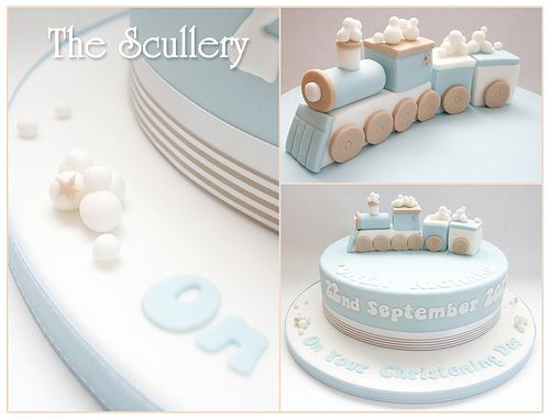 Little boys christening cake - choo choo ;-)