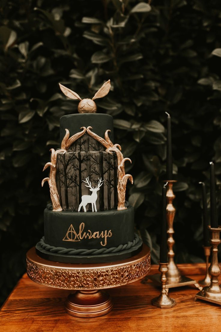 #Herbst #Harry #Potter #Themen #Hochzeiten – Der Herbst ist für eine Hochzeit unter dem Motto Harry Potter …   – cake wedding