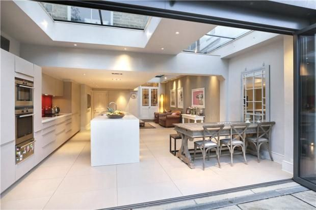 Get that open plan kitchen for a great family space. www.methodstudio.london