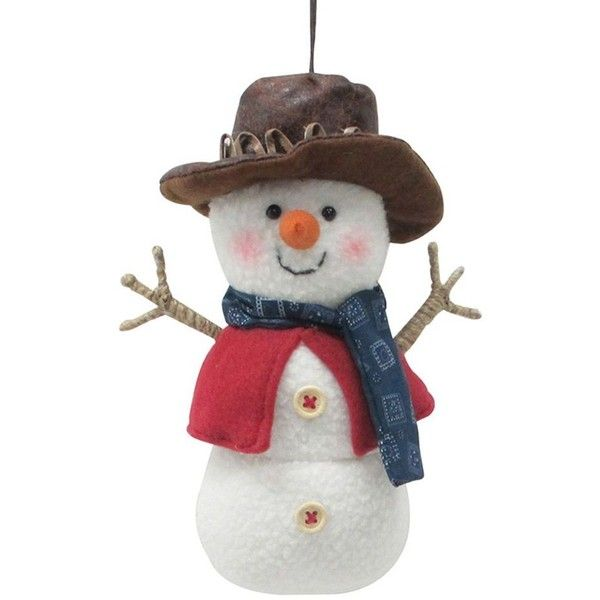 St. Nicholas Square® Western Snowman Christmas Ornament (€5,84) ❤ liked on Polyvore featuring home, home decor, holiday decorations, multicolor, cowboy home decor, snowman home decor, western cowboy home decor, western christmas ornaments and inspirational home decor