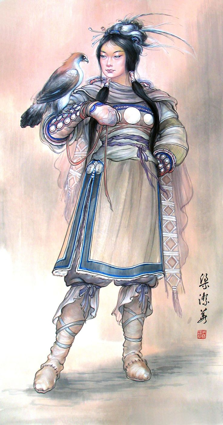The woman in the painting is called #MadamXian, an outstanding strategist and politician in ancient #Sanya.  Paiting by Jiehua Liang, famous Chinese paintress #Whererefreshingbegins #Culture