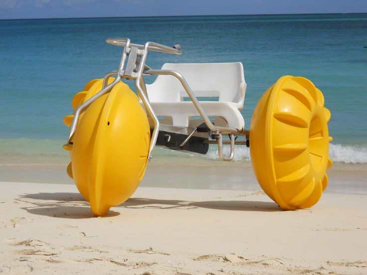 Water trike included with your stay at Sandals in Nassau, Bahamas