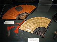 Gunsen were folding fans used by the average Japanese warriors to cool themselves off. They were made of wood, bronze, brass or a similar metal for the inner spokes, and often used thin iron or other metals for the outer spokes or cover, making them lightweight but strong.Warriors would hang their fans from a variety of places, most typically from the belt or the breastplate, though the latter often impeded the use of a sword or a bow