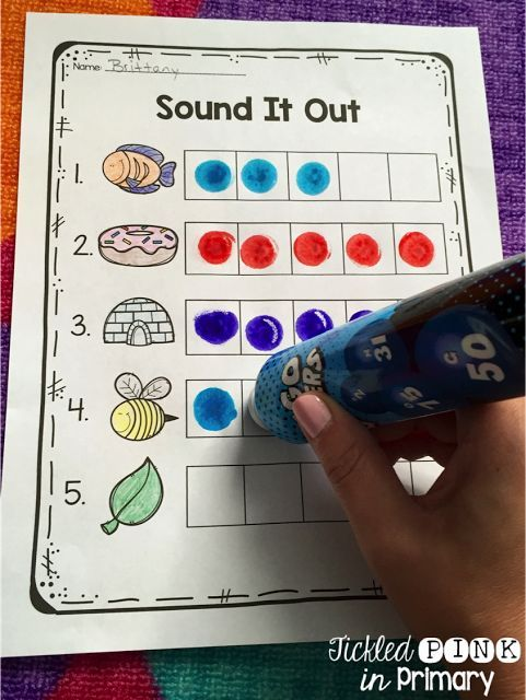 These worksheets help students count the number of sounds they hear in a word. Great phoneme segmentation practice!