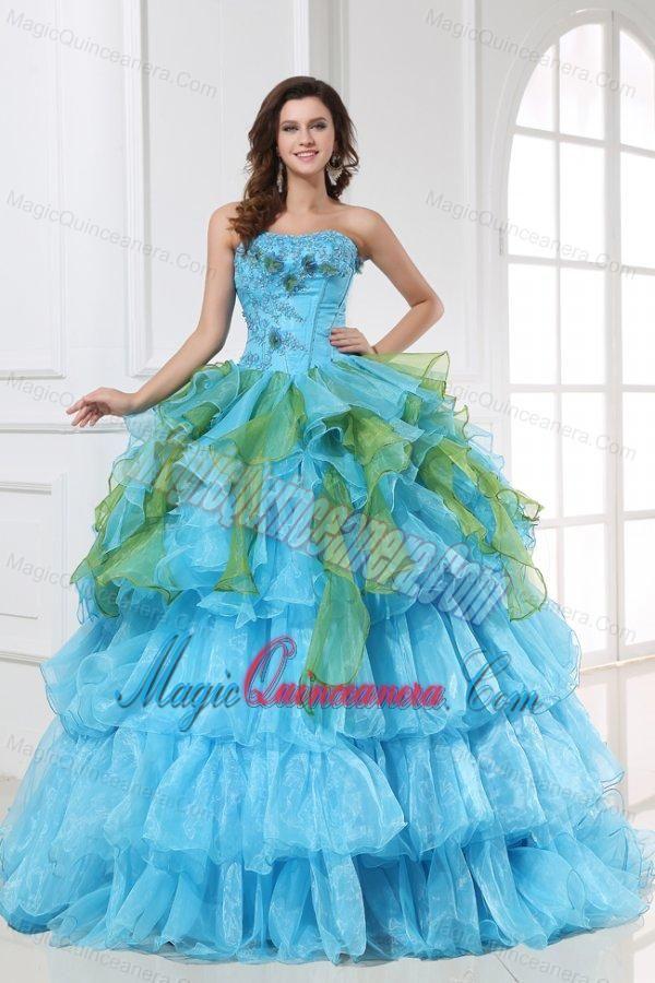 17  best images about Aqua Blue Quinceanera Dresses on Pinterest ...