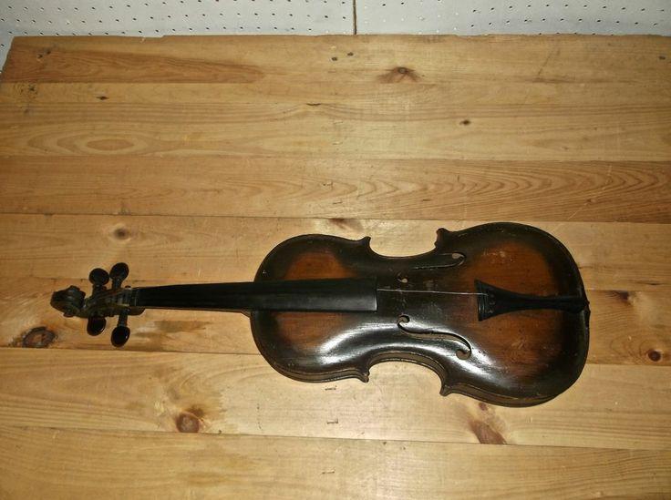 VINTAGE JACOBUS STAINER IN ABFAM PROPE OENIPONTUM 1630 Violin 14'' Body Length