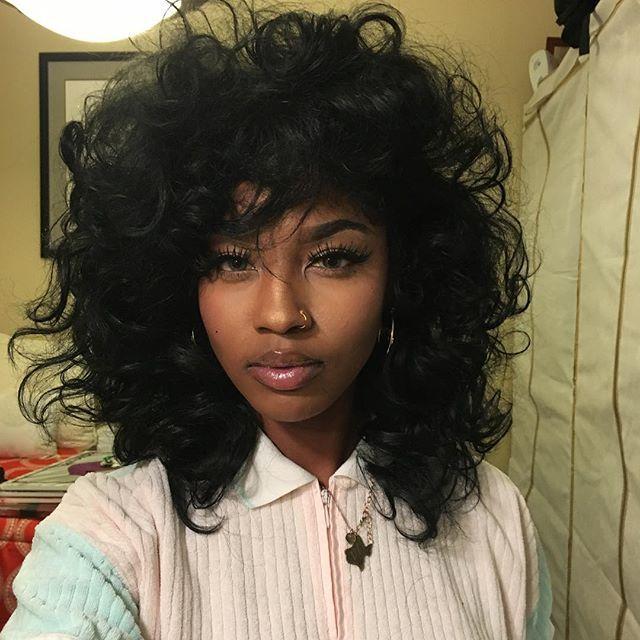 big curly hair ideas