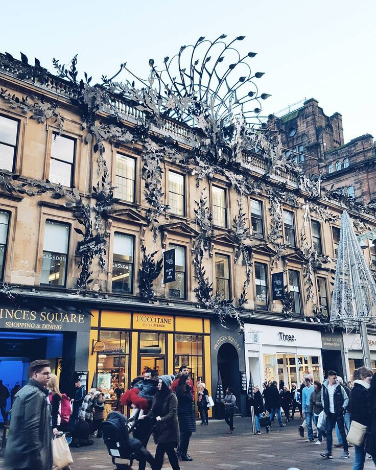 Buchanan Street #glasgow #uk #sofiagoesonerasmus
