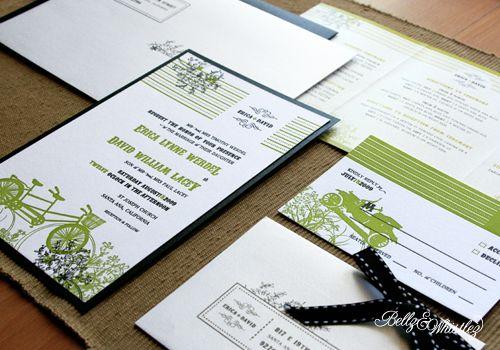 undangan pernikahan ijo item yang unyu unyu