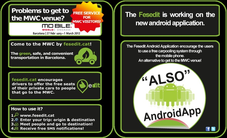 fesedit to Mobile World Congress