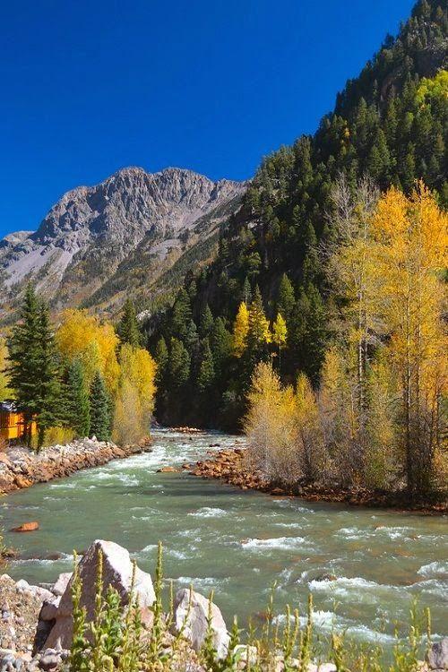 River of Lost Souls, Durango - Silverton Railroad, Colorado