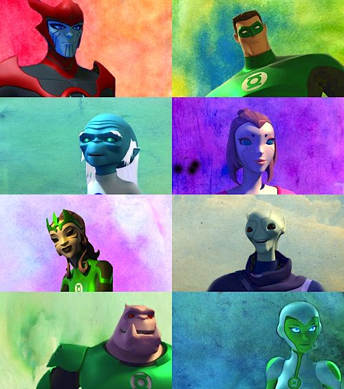 Green Lantern: The Animated Series + Smiling