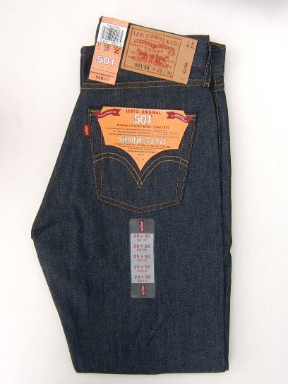 Levi's Original 501 - shrink to fit