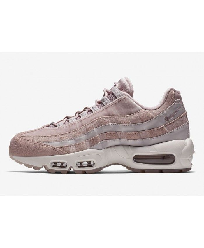 83247c9aa8c6 Discount Nike Air Max 95 Womens Deluxe Particle Rose Trainers ...