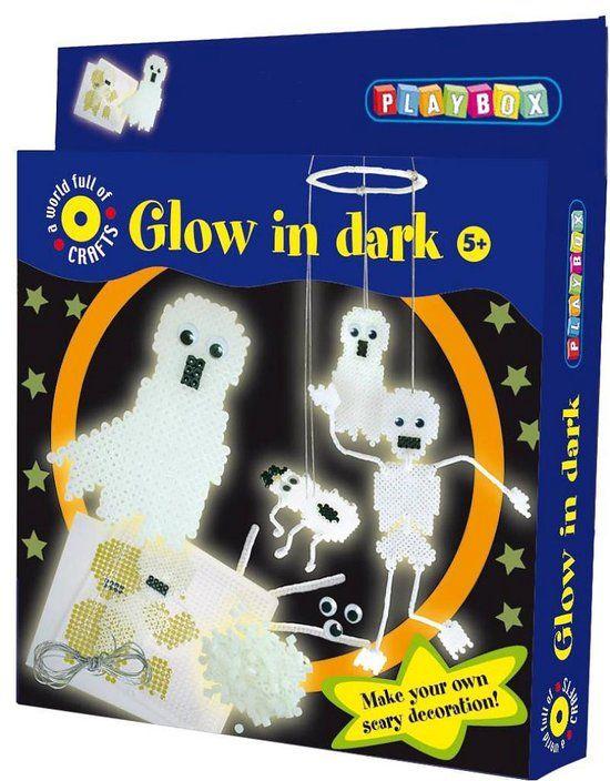 "Strijkparels ""Glow in the dark"" hobbyset"