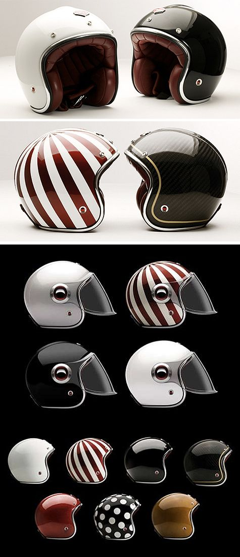 Ruby Helmets - the coolest helmets on the planet - and some of the most expensive.